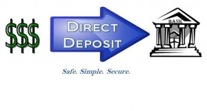 Setting Up Direct Deposit